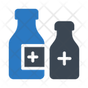 Bottle Water Blood Icon