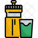 Bottle Fitness Gym Icon