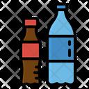 Bottle Sparkling Plastic Icon