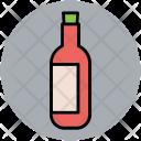 Bottle Wine Alcohol Icon