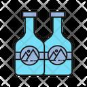 Bottle Seal Branding Design Icon