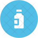 Bottle Champagne Wine Icon