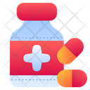 Bottle Drugs Pill Icon