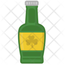 Bottle Green Beer Icon