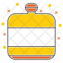 Bottle Camp Camping Icon