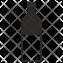 Half Bottle Whiskey Icon