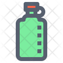 Bottle Camping Drinking Icon