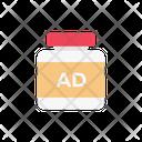 Ad Bottle Marketing Icon