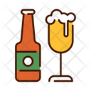 Bottle And Beer Beer Bottle Drink Icon