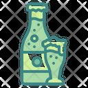 Bottle Beer Mug Beverages Icon