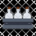 Bottle Carton Bottle Container Bottle Rack Icon