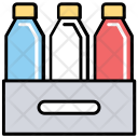 Beer Bottles Box Icon