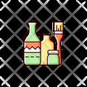 Bottle Painting Icon