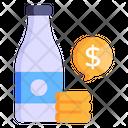 Bottle Price Icon