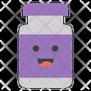 Bottle Smiley Icon