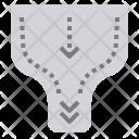 Bottleneck Analysis Production Icon