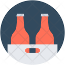 Bottles Crate Beer Icon