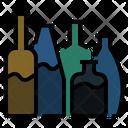 Bottles Glass Bottles Bottle Package Icon