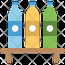 Bottles Bathroom Items Body Shower Icon