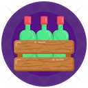 Bottles Crate Icon