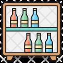 Bottles Shelf Bar Icon