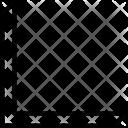 Bottom Left Diagonal Icon