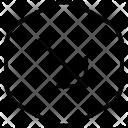 Bottom Right Diagonal Icon