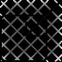 Bottom Left Drag Icon