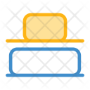 Bottom Align Vertical Icon