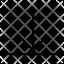 Align Bottom Type Icon