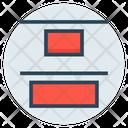 Bottom Align Icon