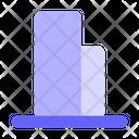 Bottom-align Icon