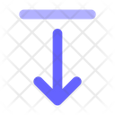 Bottom Alignment Align Alignment Icon