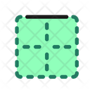 Bottom Border Icon