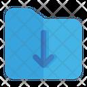 Bottom File Folder Icon
