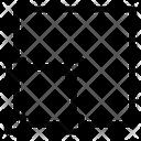 Bottom Left Align Icon