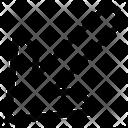 Bottom Left Arrow Icon