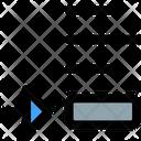 Bottom Object Icon