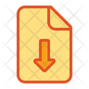 Bottom Page Document Icon