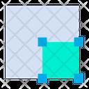 Bottom Right Align Icon