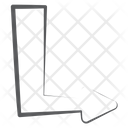Bottom Right Arrow Arrowhead Direction Arrow Icon