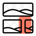 Bottom Right Image Grid Icon
