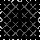 Table Border Bottom Icon
