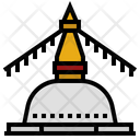 Boudhanath Stupa Nepal Icon