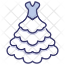Bouffant Dress Icon