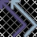 Bounce Arrow Icon
