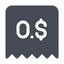 Bounced Check Payment Icon