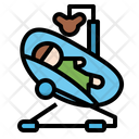 Bouncing cradle Icon