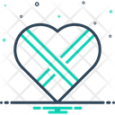 Bound Heart Knot Icon