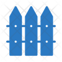 Boundary Fence Protection Icon